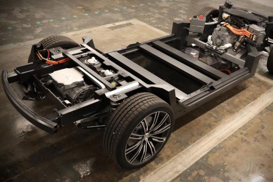 Karma E-Flex平台支持纯电和增程式车型