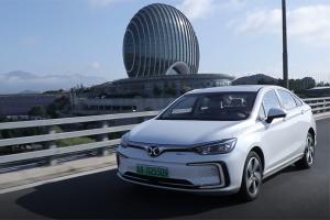 【视频】试驾北汽新能源纯电动EU5