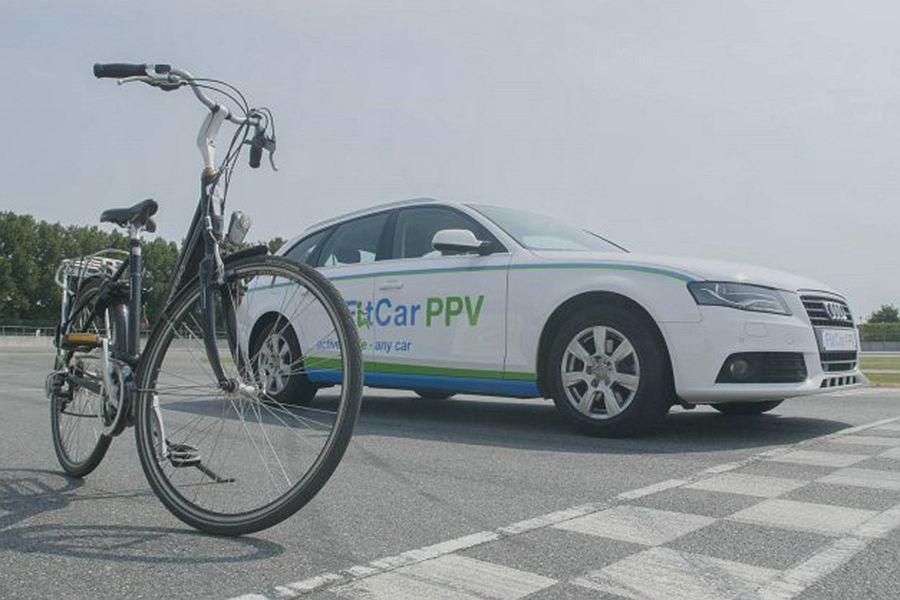 通勤锻炼两不误 奥迪脚踏板自行动力汽车