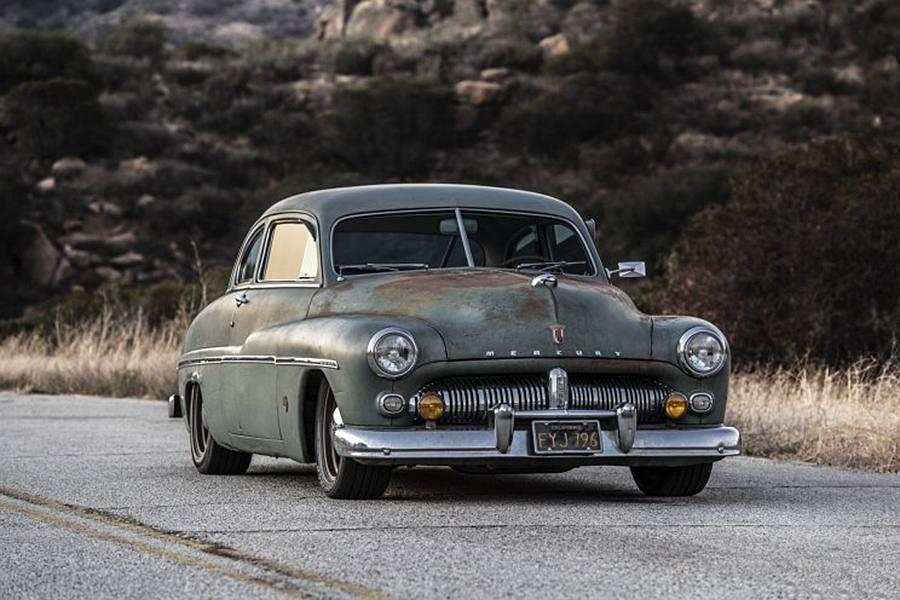 新能源配老车 1949水星Coupe改电池动力