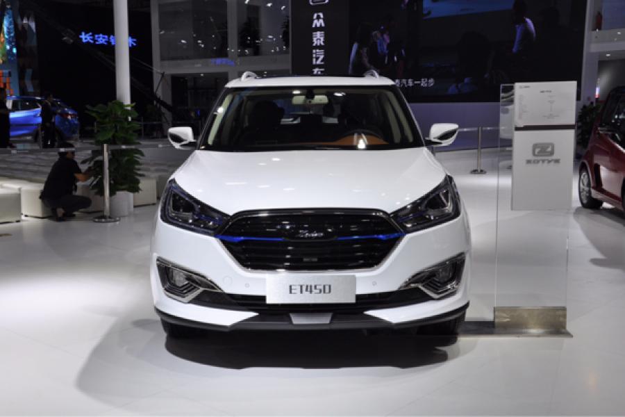 2018广州国际车展 众泰ET450正式亮相