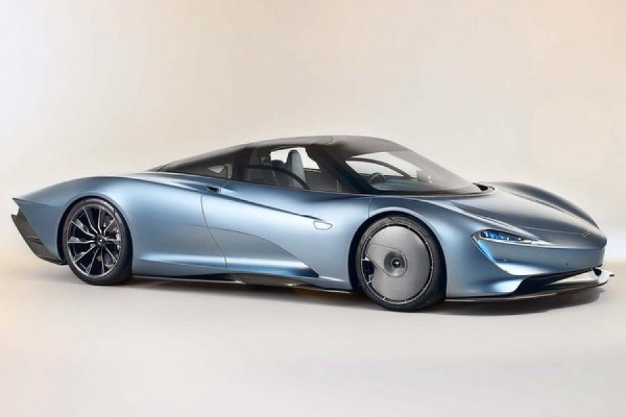 迈凯轮销量增长122% 未来或推纯电车型