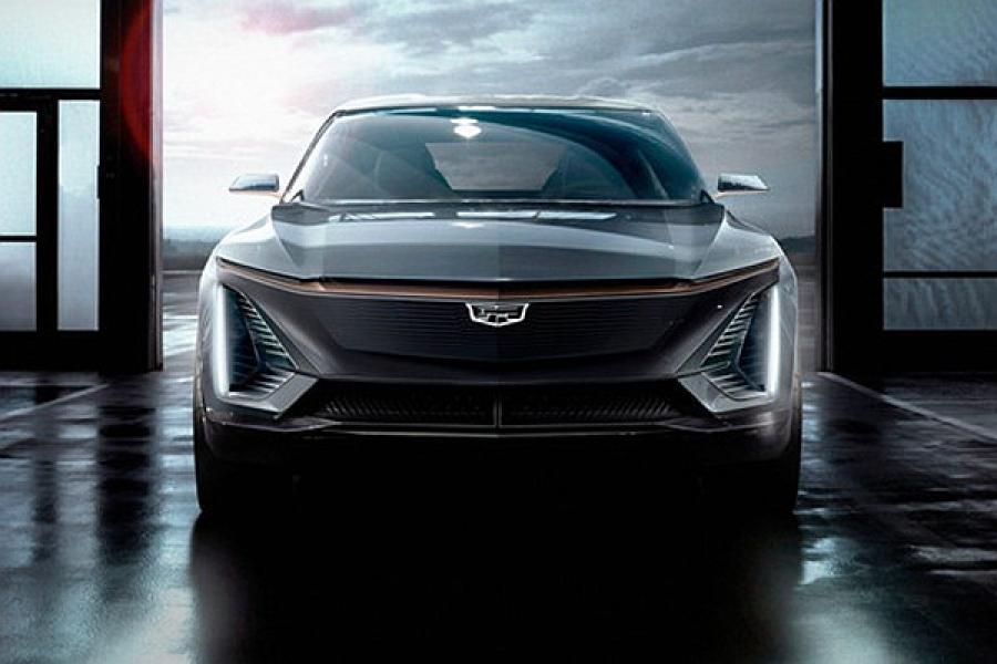 或2021年亮相 凯迪拉克纯电SUV预告图